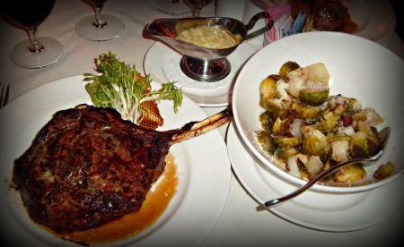 Fred Flinstone Steak