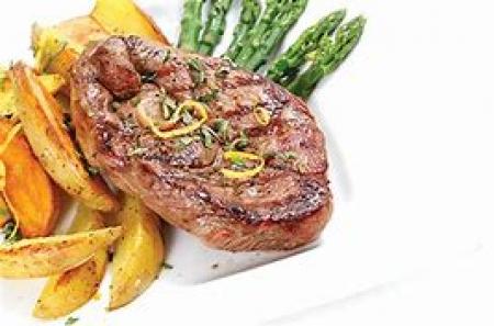 pork leg steak