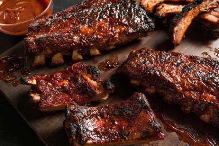 meaty bby bk ribs dble smk